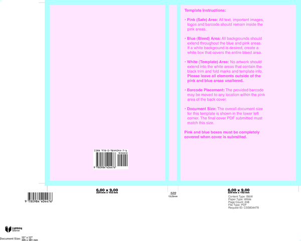 new lightning source cover templates format a book With lightning source cover template