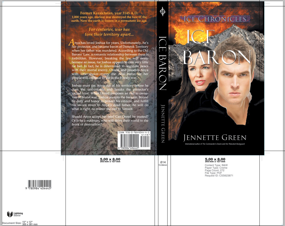 New Lightning Source Cover Templates Format A Book